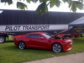 Camaro Hauled by Pilot Transport